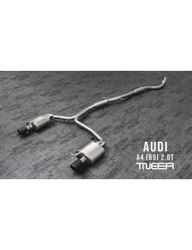 TNEER exhaust for Audi A4...