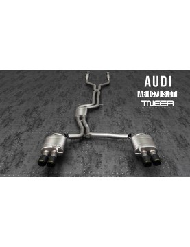 TNEER exhaust for Audi A6...