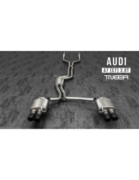 TNEER exhaust for Audi A7...