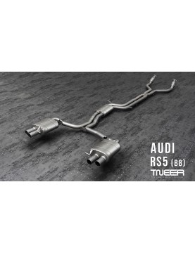 TNEER exhaust for Audi RS5...