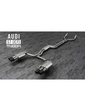 TNEER exhaust for AUDI S7 (C7)