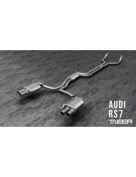 TNEER exhaust for AUDI RS7...