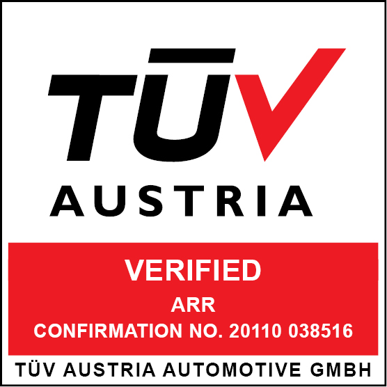 TÜV Austria Zertifikat EN